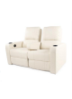 Sofa Electric Recliner Chair 2 Seater Lounger Moveable Armrest Loveseat SCHT-007