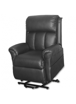 2 Motor Lift Recliner Chair Disabled Sofa Medical Massage Heat SCLC-8308 FULL LEATHER