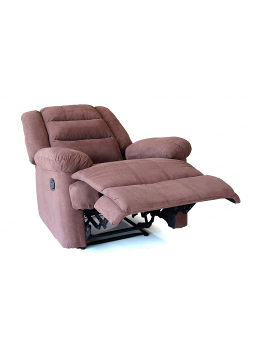 Seat Deer velvet Coffee Sofa Couch Lounge Manual Recliner Relax