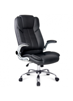 Office Chair With Foot Rest PU Leather massage heat SCOC-1223M