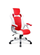 Pu High Back Racing Relaxing Gaming Executive Office Chair massage heat SCOC-4752