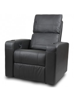 Home Theater Electric Recliner Chair Sofa 1 Seater Leather