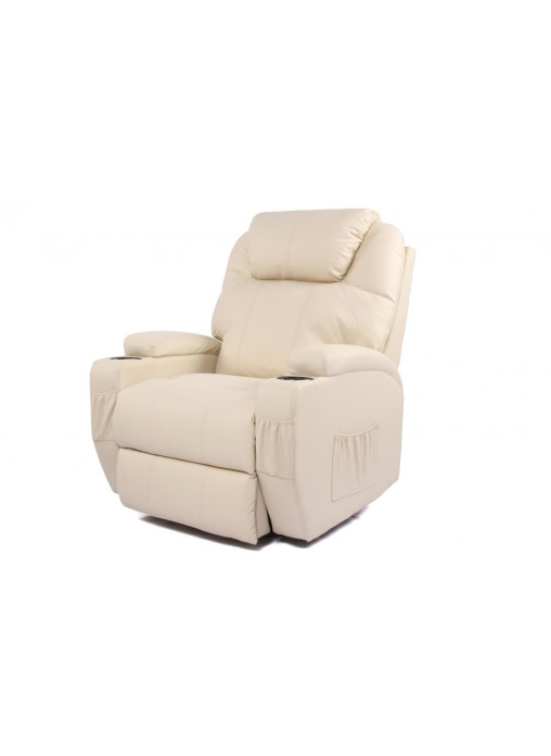 Recliner Electric Lift Chair Sofa Cream for Senior Elder 2 Motor Heating Massage  sc 1 st  BELESY Australia PTY LTD & Electric Lift Chair Sofa Cream for Senior Elder 2 Motor Heating ... islam-shia.org