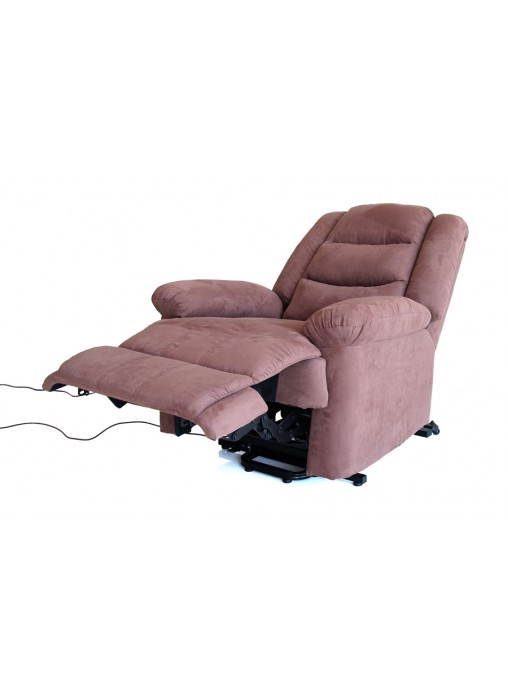 Recliner Electric Lift Chair Sofa Lounge Brown Elder Deer velvet Senior Disabled  sc 1 st  BELESY Australia PTY LTD & Electric Lift Chair Sofa Lounge Brown Elder Deer velvet Senior ... islam-shia.org