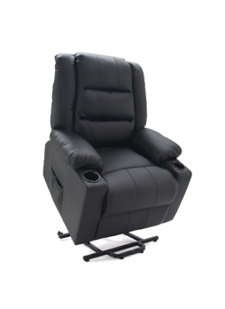 ELECTRIC LIFT CHAIR MASSAGE HEAT 1/2 MOTOR BONDED LEATHER SCLC-8305