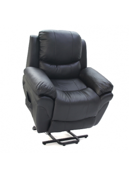1/2 Motor Lift Recliner Chair Disabled Sofa Medical 1Seater Full grain Leather SCLC-8304